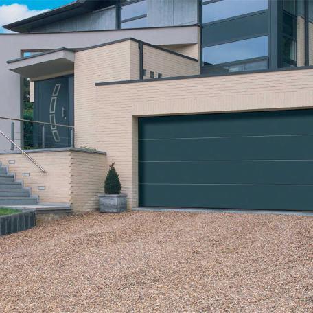 Porte garage sectionnel