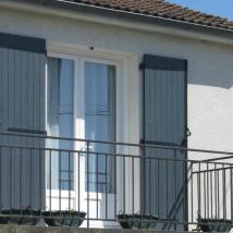 Adonis gris 7016 PCP sur balcon